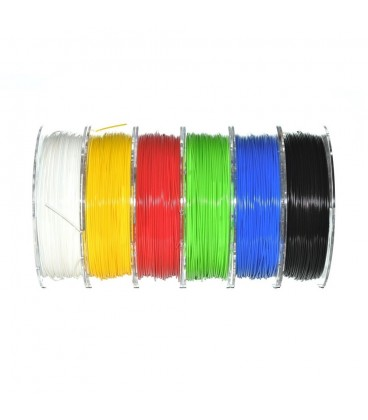 Filament: PLA 1,98kg 195°C ±0,5% 1,75mm Kit:6x 0,33kg DLZS77BBM
