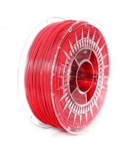 Filament PETG roşu 1kg ±0,5% 1,75mm DEV-PETG-1.75-RD