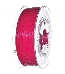 Filament: PLA roşu (zmeură) 1kg 195°C ±0,5% 1,75mm DEV-PLA-1.75-RRE