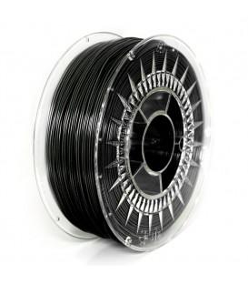 Filament PETG negru 1,75mm 1kg ±0,5%  DEV-PETG-1.75-BL