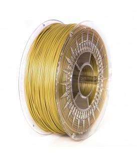 Filament: PLA aurie 1kg 195°C ±0,5% 1,75mm DEV-PLA-1.75-GOL