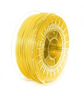 Filament: PLA galben (deschis) 1kg 195°C ±0,5% 1,75mm DEV-PLA-1.75-BYE