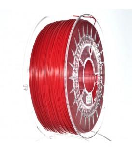 Filament: PLA roşie 1kg 195°C ±0,05mm 1,75mm DEV-PLA-1.75-RD