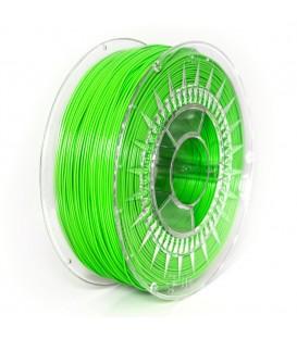 Filament: PLA verde (deschis) 1kg 195°C ±0,5% 1,75mm DEV-PLA-1.75-BGR