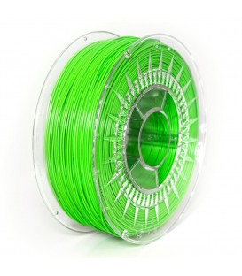 Filament: ABS+  verde (deschis)  1kg  235-255°C  ±0,5%  1,75mm DEV-ABS+1.75-BGR
