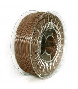 Filament: PLA  maro  1kg  195°C  ±0,05mm  1,75mm DEV-PLA-1.75-BR
