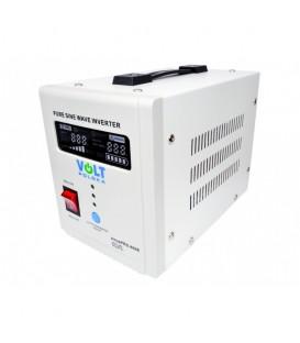 UPS VOLT Polska SInus PRO 800 VA 500W centrala termica baterie externa