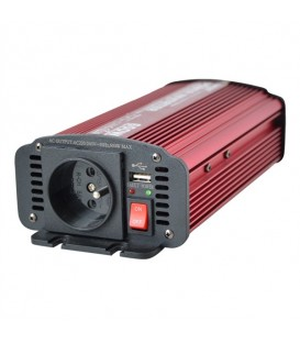 Invertor de putere 12V / 230V 600W Priza + USB