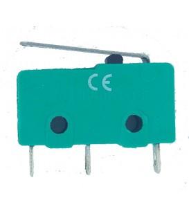 Microîntrerupător cu manetă SPDT 5A/250VAC ON-(ON) IP40 1,5N DWLK-2MINI