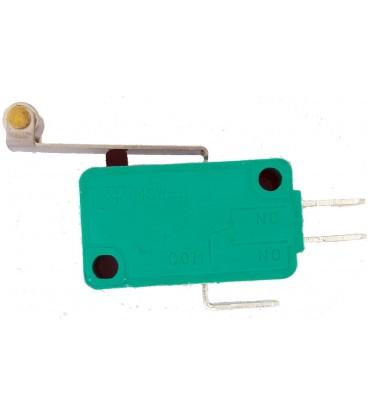 Microîntrerupător cu manetă (cu rolă) SPDT 10A/250VAC IP40