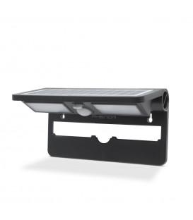 Reflector solar cu LED, cu senzor de mişcare şi de lumină - NEGRU 55270BK