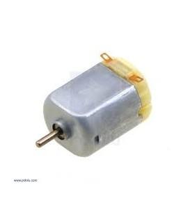 Motor: DC fără angrenaj 3÷6VDC Arb.pe două feţe: nu 7,2A 330mA POLOLU-1592